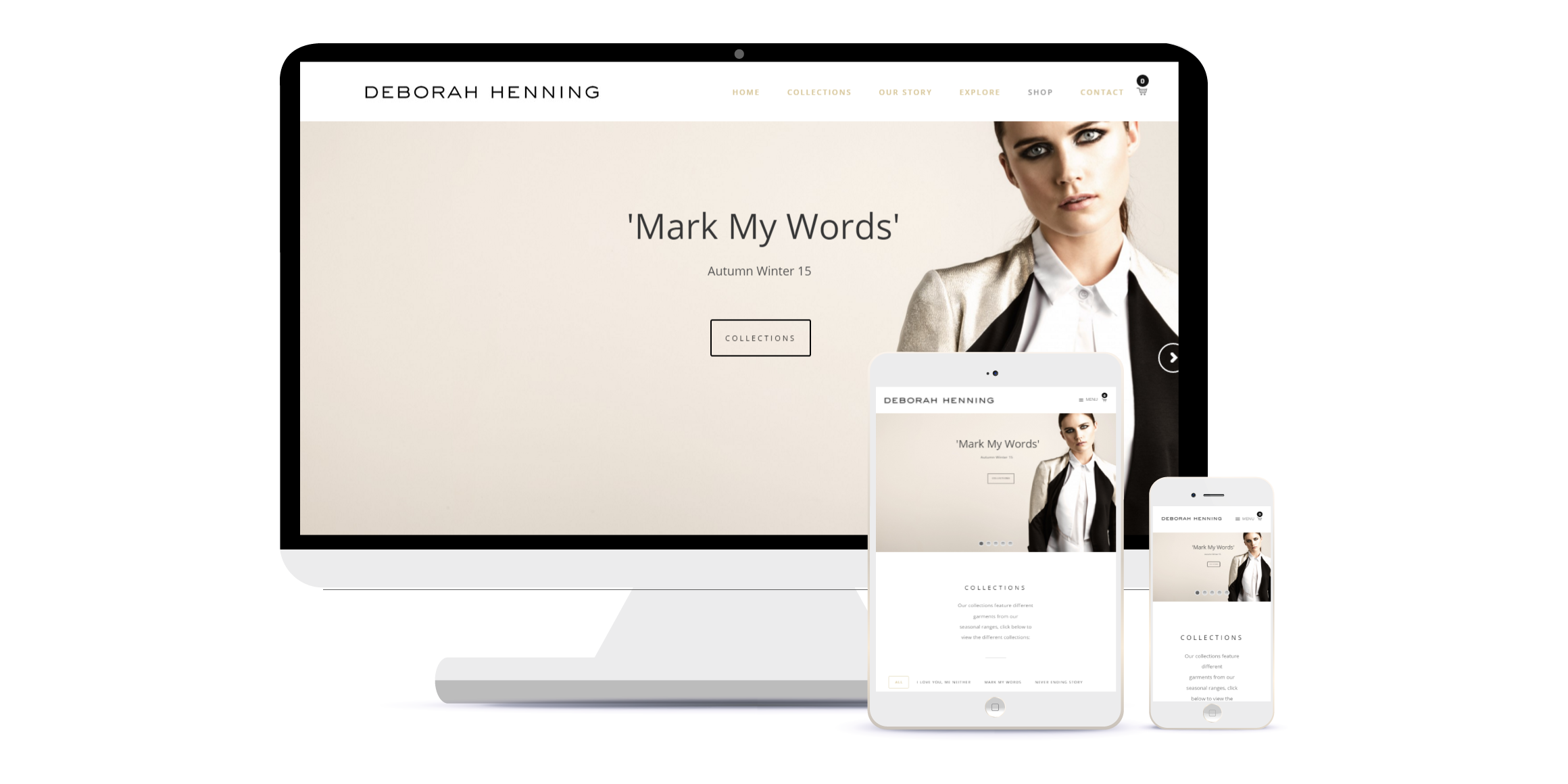 fashion wordpress website