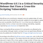 Critical Security Release